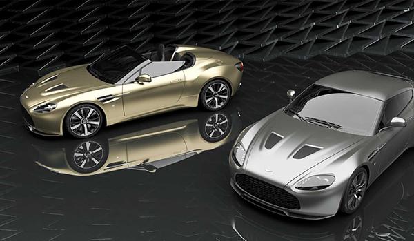 Aston Martin Vantage Zagato V12 Coupe và Speedster 2021 ra mắt