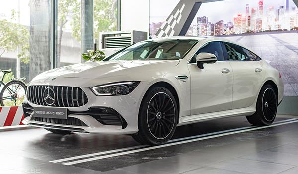 Coupe 4 cửa Mercedes-AMG GT53 4Matic+ giá gần 6,3 tỷ đồng