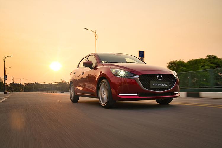 Thiết kế mới giúp Mazda2 có ngoại hình bắt mắt hơn.