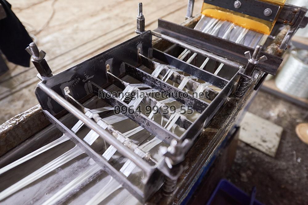 quy trình sản xuất ra sợi cacbon