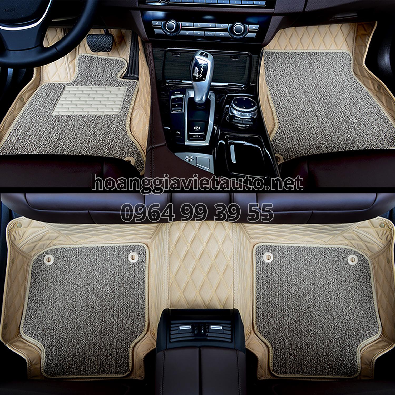 thảm lót màu kem xe mercedes
