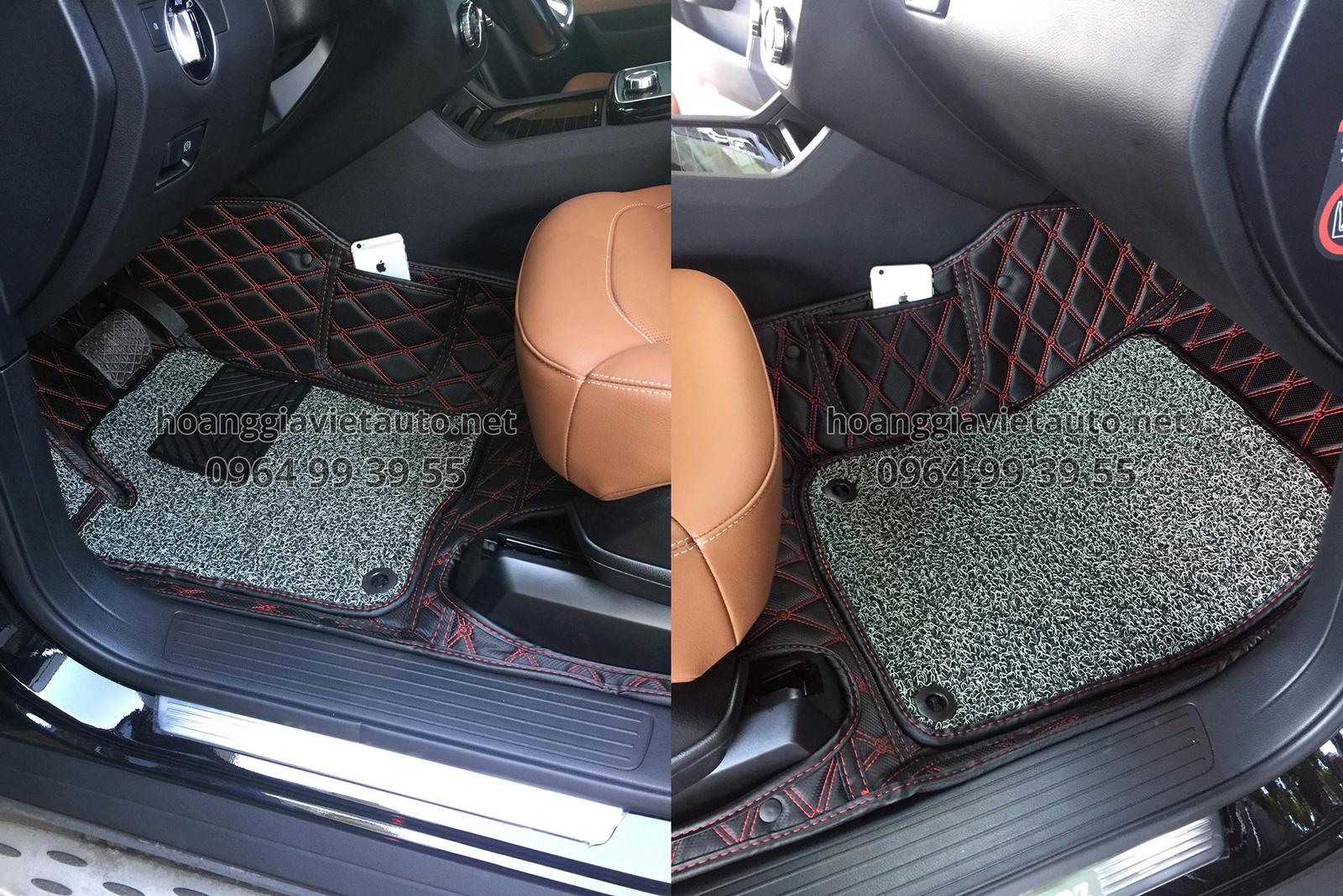 Hướng dẫn chọn thảm lót sàn ô tô theo dòng xe
